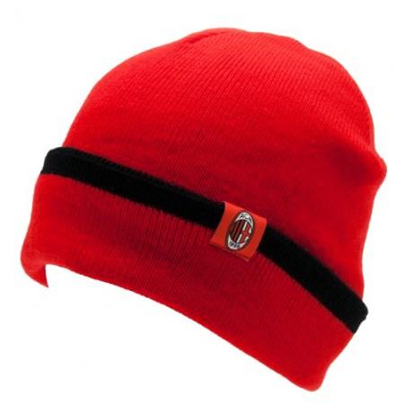 A.C. Milan atlenkiama žieminė kepurė (Raudona)