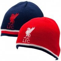 Liverpool F.C. išverčiama dvipusė žieminė kepurė