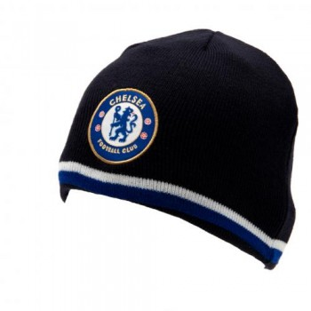 Chelsea F.C. išverčiama dvipusė žieminė kepurė