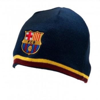 F.C. Barcelona išverčiama dvipusė žieminė kepurė