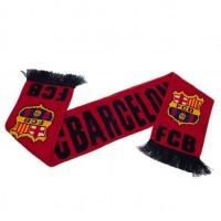 F.C. Barcelona šalikas (Raudonas su juodu užrašu)