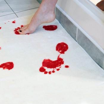 Kruvinas vonios kilimėlis