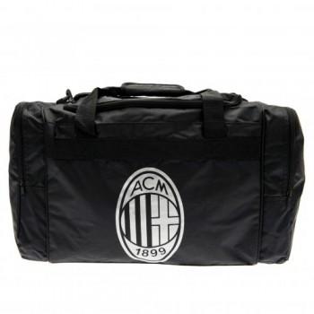 A.C. Milan kelioninis krepšys (Juodas)