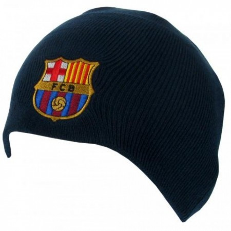 F.C. Barcelona žieminė kepurė (Tamsiai mėlyna)