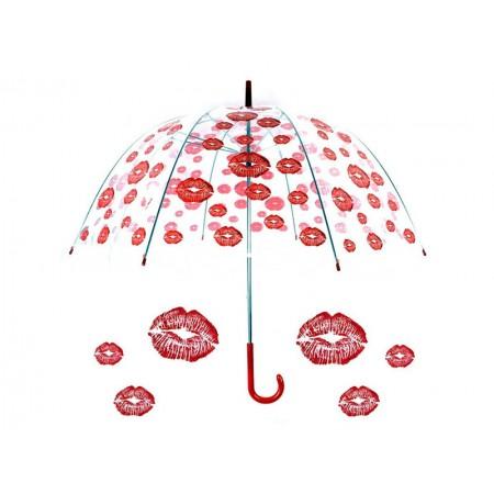 Permatomas didelis skėtis ''Bučinys''