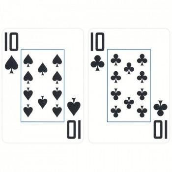 Copag WSOP pokerio kortos (Raudonos)
