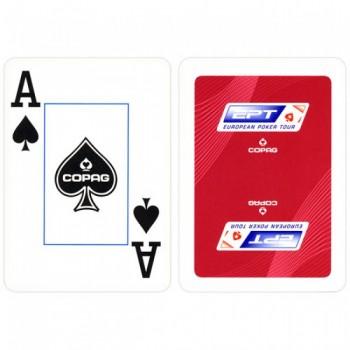 Copag EPT pokerio kortos (Raudonos)
