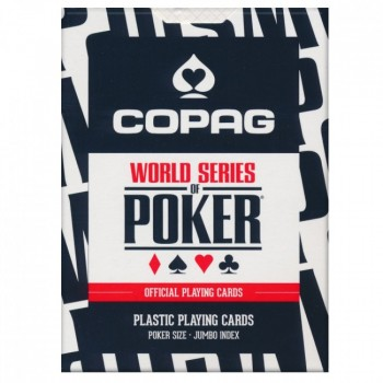 Copag WSOP pokerio kortos (Juodos)