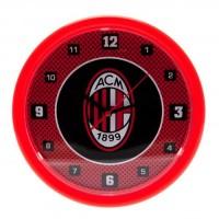 A.C. Milan sieninis laikrodis (Raudonas)