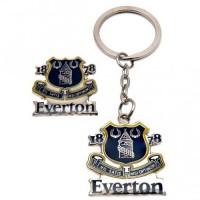 Everton F.C. raktų pakabuko ir ženklelio rinkinys