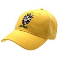Brasil CBF kepurėlė su snapeliu (Geltona)