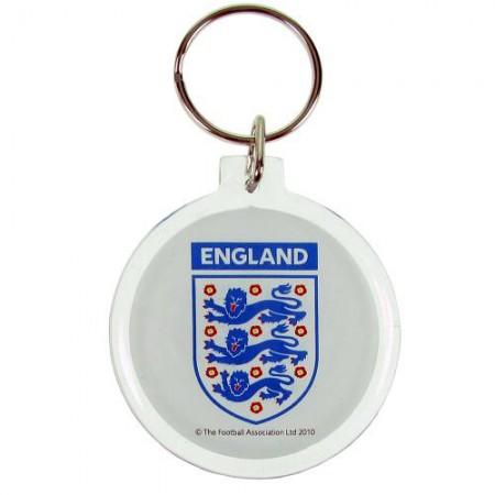 England F.A. akrilinis raktų pakabukas