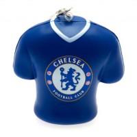 Chelsea F.C. minkštas marškinėlių formos raktų pakabukas