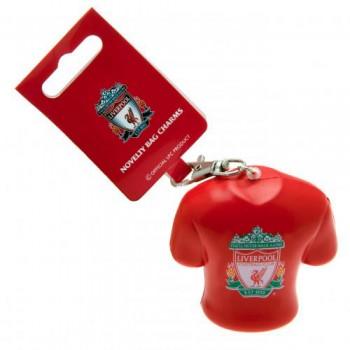 Liverpool F.C. minkštas marškinėlių formos raktų pakabukas