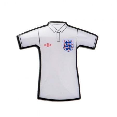 England F.A. prisegamas marškinėlių formos ženklelis