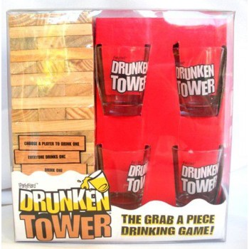 """Vakarėlių žaidimas ''Įkaušęs bokštas"""""""