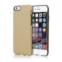 Incipio Feather Shine telefono dėklas Apple iPhone 6 telefonui (Aukso spalvos)