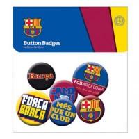 F.C. Barcelona prisegamų ženklelių rinkinys