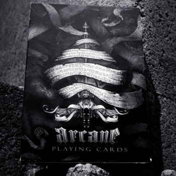 Ellusionist Arcane Black Bicycle kortos