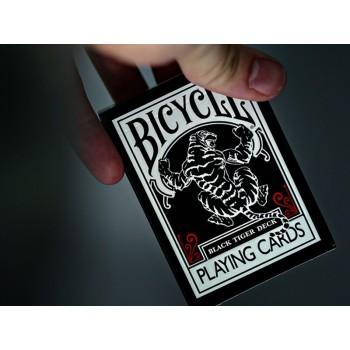 Bicycle Black Tiger kortos