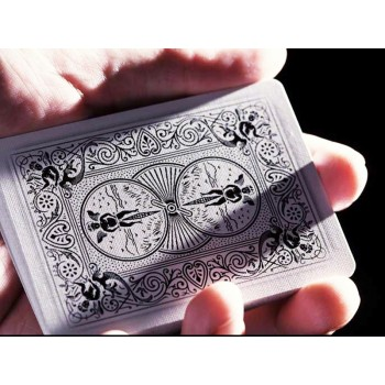 Ellusionist Ghost White Bicycle kortos