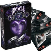 Bicycle Anne Stokes Dark Hearts kortos