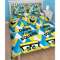 Spongebob Double Duvet Cover Set