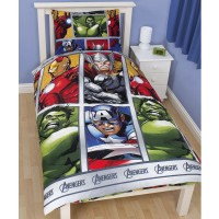 Avengers 'Team' Duvet Cover Set