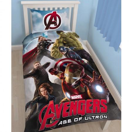 """Marvel komiksų """"Keršytojai 2"""" dvipusės patalynės komplektas"""