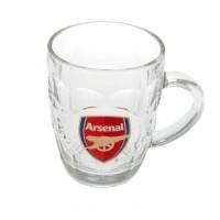 Arsenal F.C. stiklinis alaus bokalas
