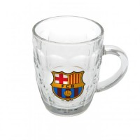 F.C. Barcelona stiklinis alaus bokalas