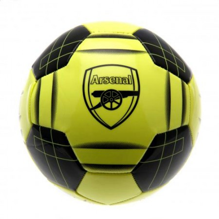 Arsenal F.C. futbolo kamuolys (Geltonai žalias)