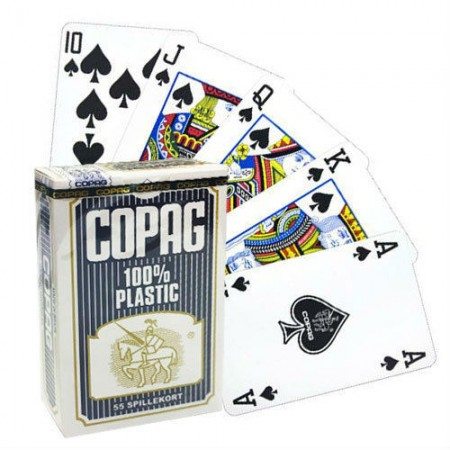 Copag Bridge Regular pokerio kortos (Mėlynos)