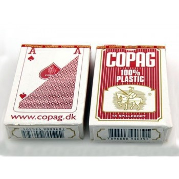 Copag Bridge Regular kortos (Raudonos)