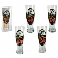 "Gimtadienio alaus bokalas ,,Happy Birthday Beer"""