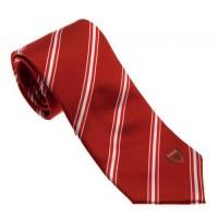 Arsenal F.C. kaklaraištis (Raudonas, dryžuotas)