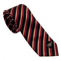 Arsenal F.C. kaklaraištis (Juodas dryžuotas)