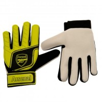 Arsenal F.C. jaunio vartininko pirštinės (Geltonos)