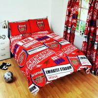 Arsenal F.C. dvigulės patalynės komplektas (Raudonas)