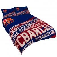 F.C. Barcelona dvigulės, dvipusės patalynės komplektas (Su pavadinimu)