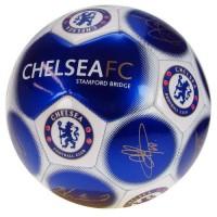 Chelsea F.C. futbolo kamuolys (Mėlynas su parašais)