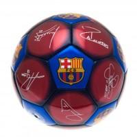 F.C. Barcelona futbolo kamuolys (Spalvotas su parašais)
