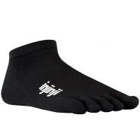 Injinji Sport Original Weight Micro penkių pirštų kojinės (Juodos)