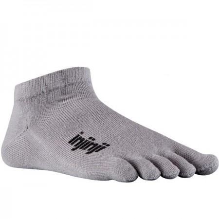 Injinji Sport Original Weight Micro penkių pirštų kojinės (Pilkos)