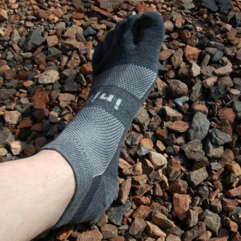 Injinji Outdoor 2.0 Original Weight Micro penkių pirštų kojinės (Pilkos)