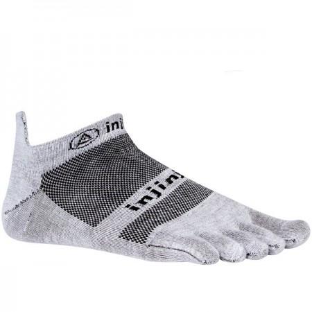 Injinji RUN 2.0 Lightweight No-Show penkių pirštų kojinės (Pilkos)