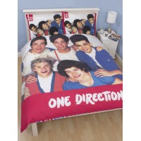 One Direction reversible double duvet