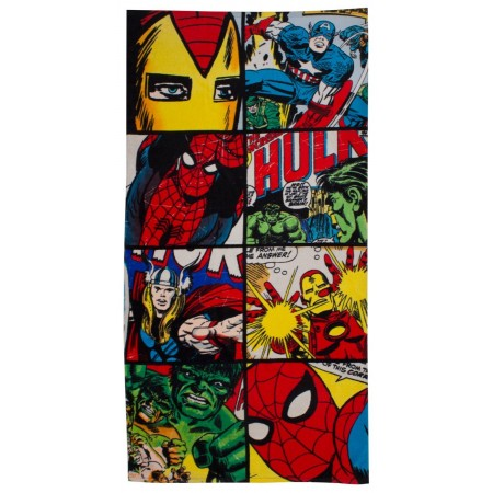 """Marvel komiksų """"Defenders"""" paplūdimio rankšluostis"""