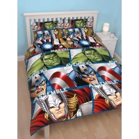 Avengers 'Team' double Duvet Cover Set