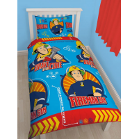 Fireman Sam Reversible Duvet set